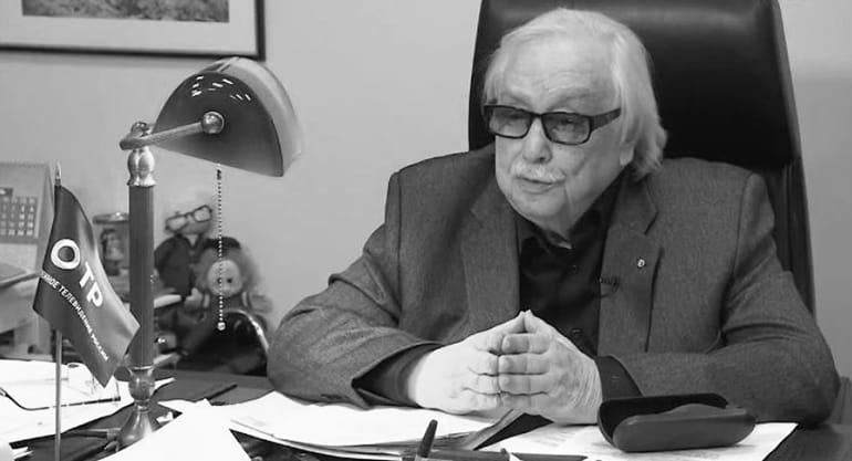 Умер гендиректор Общественного телевидения России Анатолий Лысенко