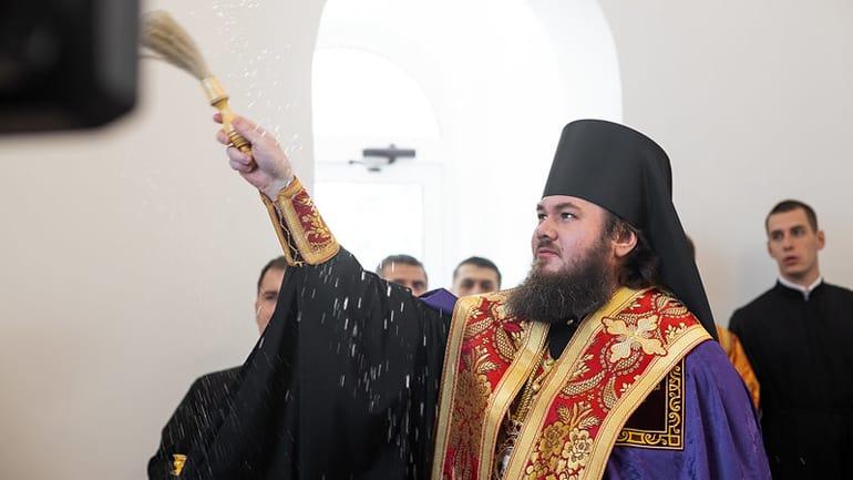 Открыт первый мемориал защитникам Троице-Сергиевой лавры во времена Смуты