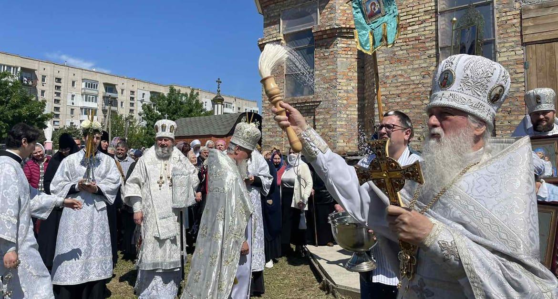 За неделю в Украинской Церкви освятили девять новых храмов