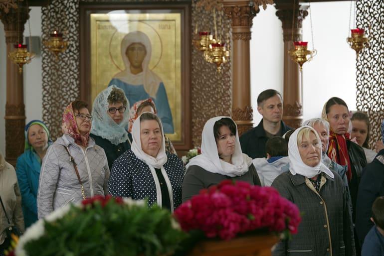 В Нижегородской епархии отпраздновали 20-летие обретения мощей Пузовских мучениц