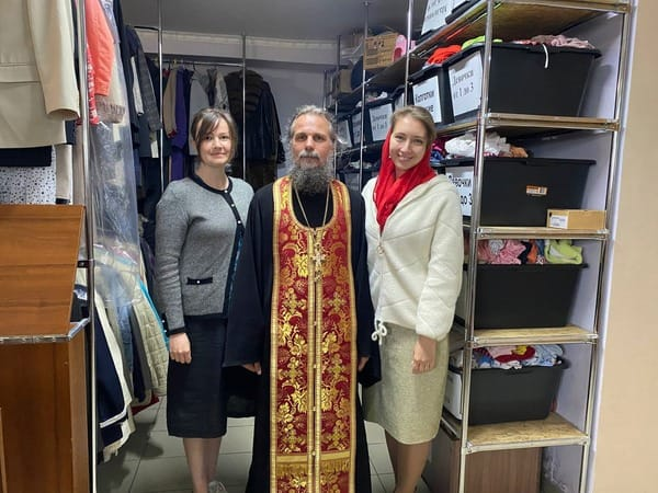 Новые церковные центры гуманитарной помощи открыты в Выборге и Кинешме