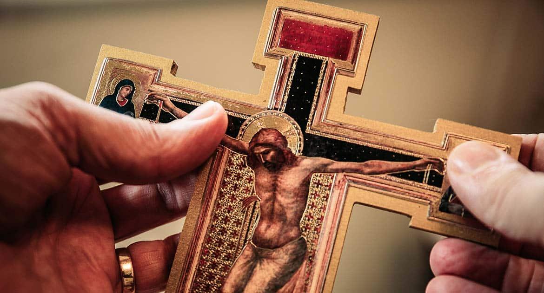Нашла крестик. Что делать?