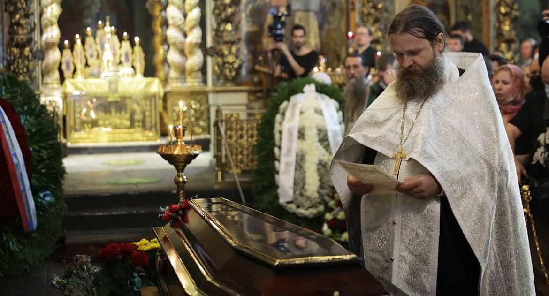 Петра Мамонова похоронили в подмосковной Верее