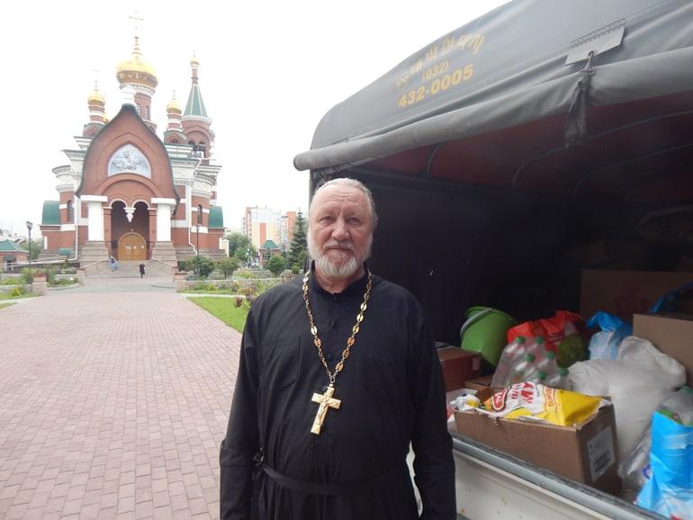 Челябинская епархия передает помощь пострадавшим от лесных пожаров
