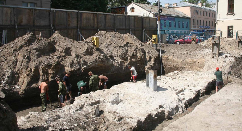 За 10 лет археологи нашли в Москве 60 тысяч артефактов, создано 16 музеев под открытым небом