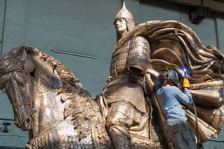 Мемориал на Чудском озере напомнит, что Русь от крестоносцев защитили молодые ребята