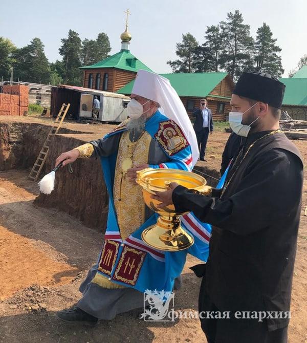 Началось строительство духовно-просветительского центра Нефтекамской епархии
