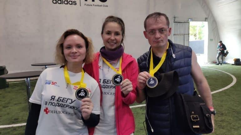 Забег ради добра: фотограф «Фомы» пробежал марафон, чтобы помочь нуждающимся