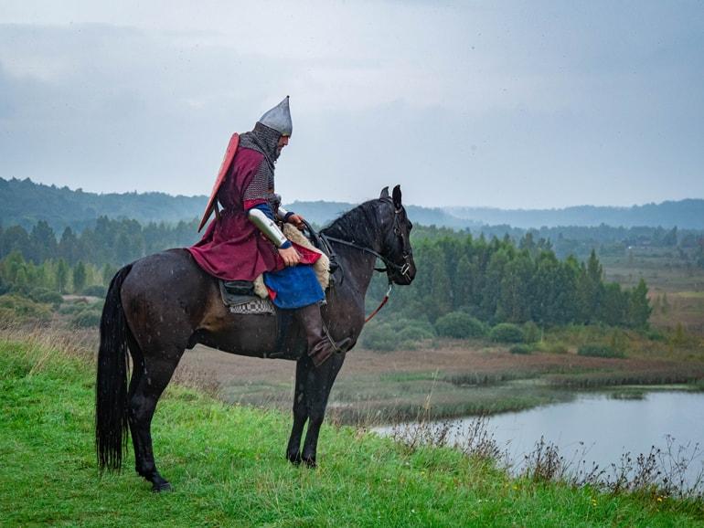 Дорогой святого князя: конница Александра Невского прошла путь в тысячу километров