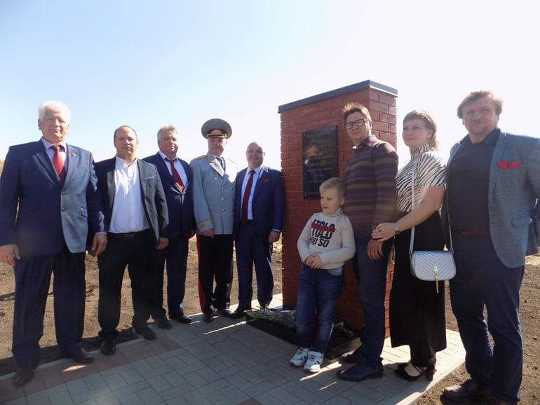 В Воронежской области увековечили имя крестьянина, заведшего фашистов в болота