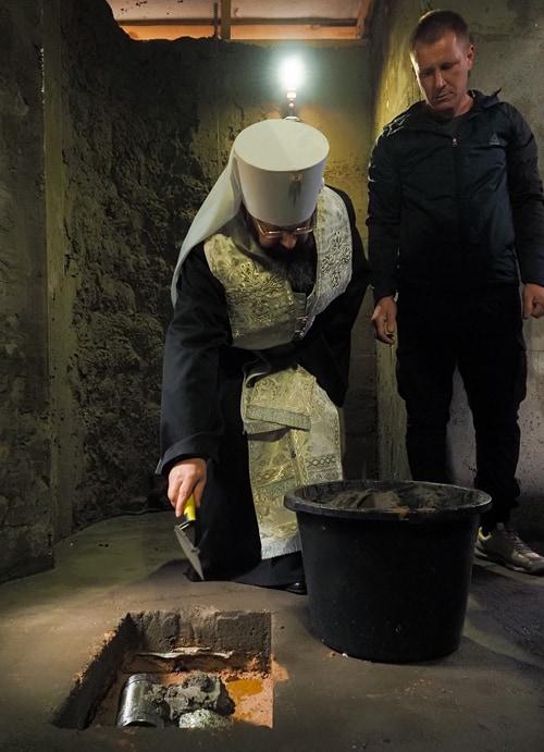 При больнице, начавшей первой на Смоленщине принимать больных ковидом, строят храм
