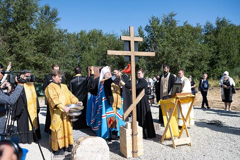 В Казахстане заложили два новых храма в честь Пресвятой Богородицы