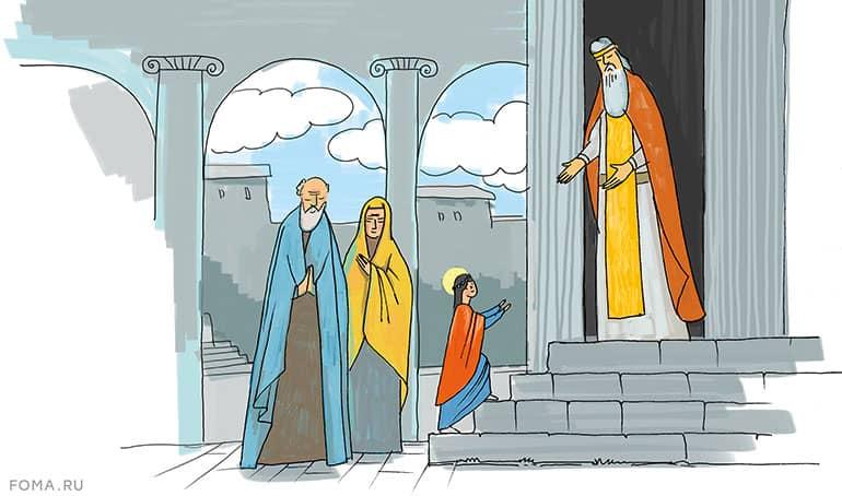 Как родилась Богородица. История для детей