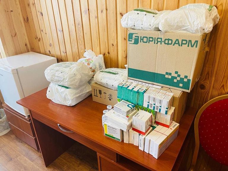 Украинская Церковь масштабно помогает врачам и медучреждениям