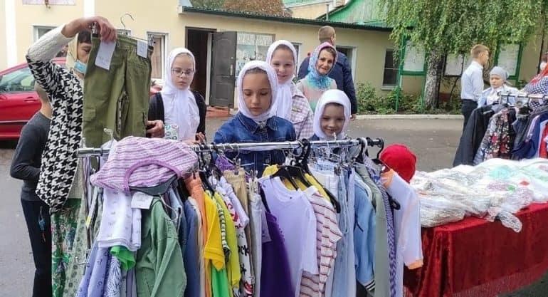 Ливенская епархия начала помогать семьям, в которых больше пяти детей