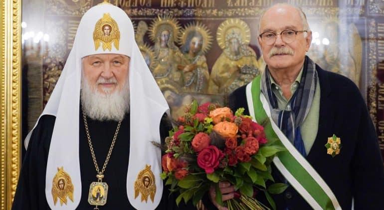Никита Михалков награжден орденом Серафима Саровского I степени