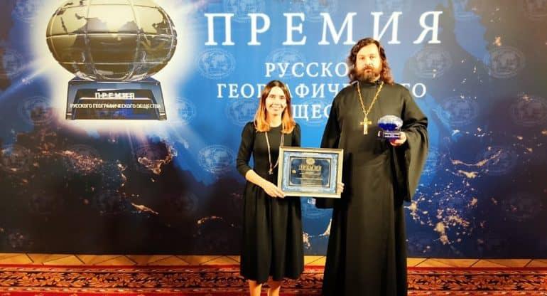 Проект по возрождению храмов Русского Севера «Общее дело» стал лауреатом премии РГО