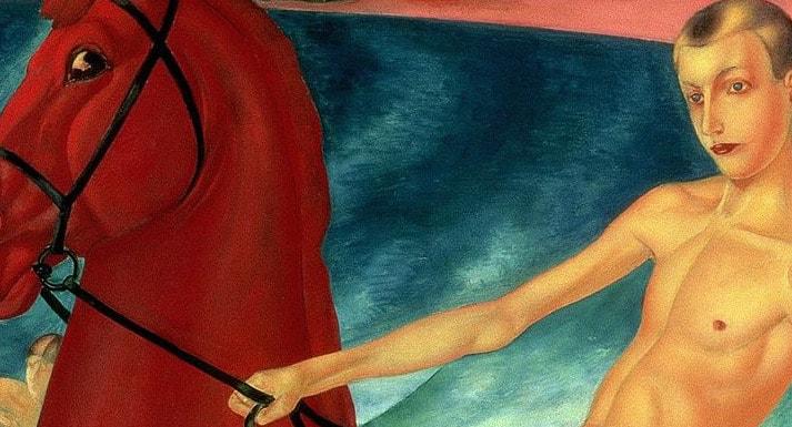 Появилась новая интересная версия происхождения красного коня на знаменитой картине Петрова-Водкина