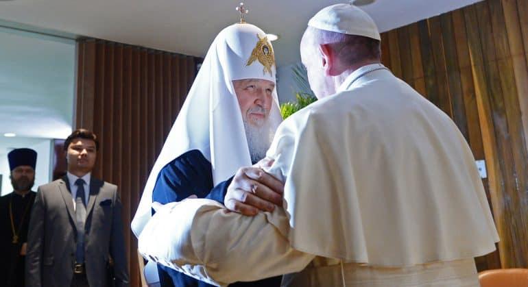 Условия для визита Папы Римского в Россию в настоящий момент отсутствуют, – митрополит Иларион