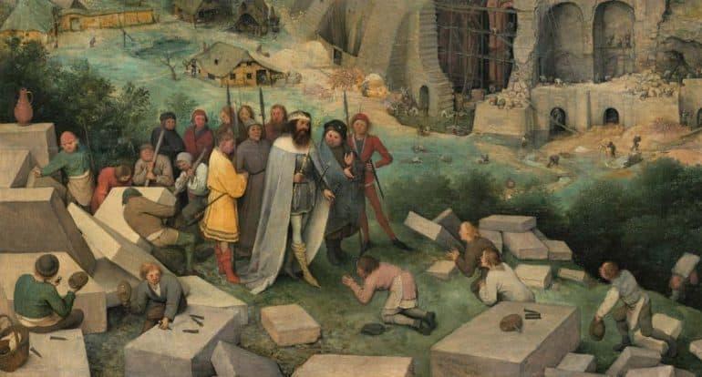 «Вавилонская башня» Брейгеля: как понимать эту «библейскую» картину и какие символы в ней скрыты