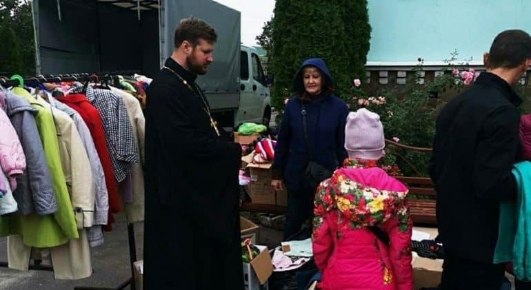 Воронежская епархия доставляет помощь в отдаленные селения региона