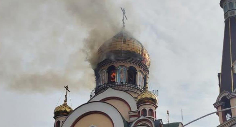 Пожар нанес серьезный урон одному из красивейших храмов Казахстана