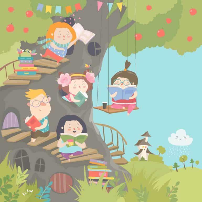 Как «приучить» ребенка к книге: из опыта одной многодетной семьи