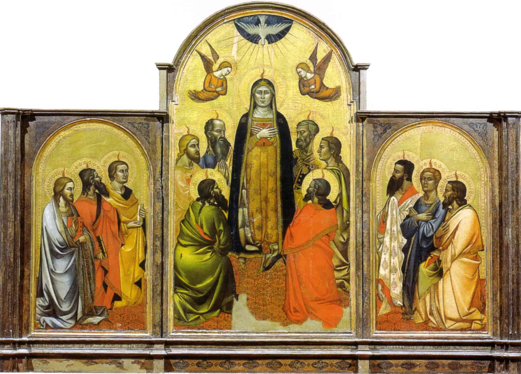 «Пятидесятница» Андреа Орканьи