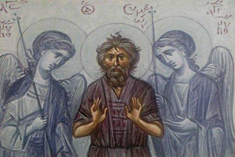 Преподобный Симеон Эмесский (VI в.)