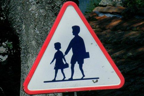 Отпустить ребенка одного