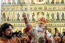 Патриарх Кирилл освятил собор Сергия Радонежского в Варницком монастыре Ростова Великого