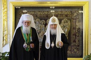 Патриархи Русской и Болгарской Церквей подписали совместное коммюнике