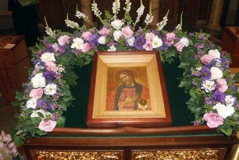 В храме Патриаршего подворья при МГИМО пребывает икона святого Александра Невского