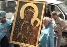 Осквернитель Ченстоховской иконы Божией Матери дал показания