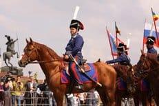 Из Москвы в Париж стартовал конный поход в память о солдатах войны 1812 года