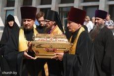 В рамках международного крестного хода в Беларусь прибыли мощи святого князя Владимира