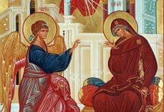 Православные праздную Благовещение Пресвятой Богородицы