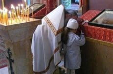 В Никольском соборе Нижнего Новгорода впервые прошел праздник первой исповеди