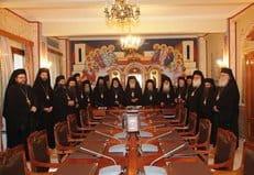 Священный Синод Греческой Церкви выступил против гражданских браков
