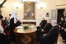 Патриарх Кирилл поблагодарил эстонских лютеран за неприятие однополых союзов