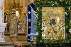 В Санкт-Петербург принесена Феодоровская икона Божией Матери