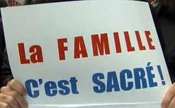 В Париже прошел многотысячный митинг-шествие против легализации однополых браков