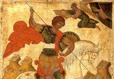 В конце октября в Украину прибудет частица мощей святого Георгия Победоносца