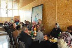 В единственном храме Грозного начали бесплатно кормить малоимущих