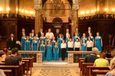 Детско-юношеский церковный хор из России завоевал серебро на международном фестивале в Риме