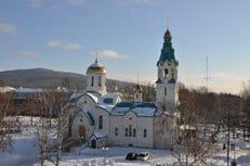 В Южно-Сахалинске почтили память убитых в храме