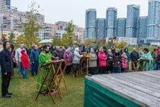 Поддержать строительство храма на Ходынке пришло более полутора тысяч человек