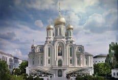 Проект нового храма Сретенского монастыря одобрен столичными властями