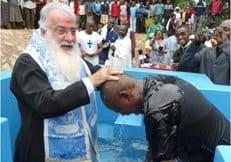 Сын кенийского премьер-министра принял Православие