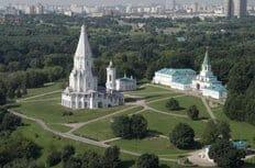 В Коломенском за сутки возведут храм в честь преподобного Сергия Радонежского